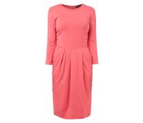 Kleid aus Viskosemischung mit Eingrifftaschen