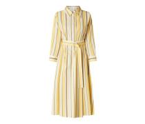 Kleid mit Taillengürtel Modell 'Damoa'