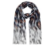 Schal mit künstlerischem Allover-Muster