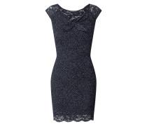 Kleid aus Spitze mit Punktmuster