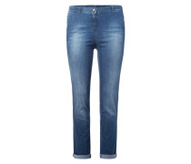 PLUS SIZE - Stone Washed Modern Fit Jeans