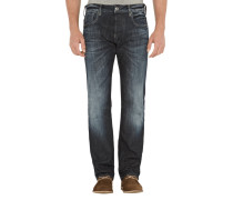 DEFEND STRAIGHT Straight Cut Jeans mit Stretch-Anteil