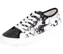 Sneaker mit florales Muster