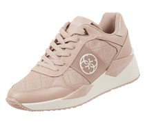 Plateau-Sneaker mit Logo-Muster Modell 'Tesha'
