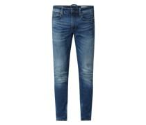 Skinny Fit Jeans mit Stretch-Anteil Modell '4101 Lancet'