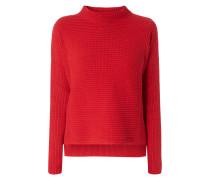 Boxy Fit Pullover mit seitlichen Reißverschlüssen