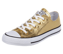 Sneaker 'All Star' in Metallicoptik