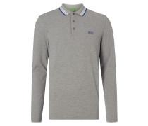 Regular Fit Poloshirt mit langem Arm