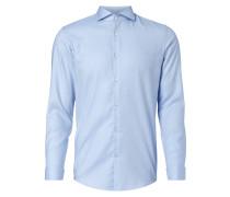 Slim Fit Business-Hemd mit Umschlagmanschetten