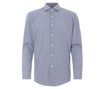 Slim Fit Hemd mit Vichy Karo