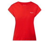 T-Shirt mit Logo-Print Modell 'Bloom'