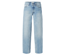 ALTERED WIDE LEG - Jeans-Culotte im Used Look