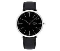 Uhr mit Armband aus Leder