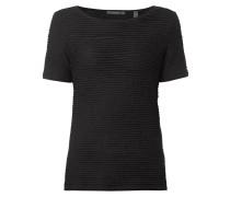 Shirt mit gewellter Struktur
