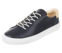 Sneaker aus Leder mit Fußbett aus Kork