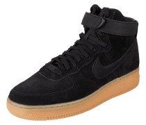 High Top Sneaker 'Air Force 1' aus Veloursleder