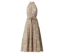 Kleid aus Viskosemischung Modell 'Zima'