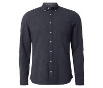 Shaped Fit Freizeithemd mit Button-Down-Kragen