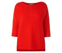 Oversized Pullover aus reiner Baumwolle