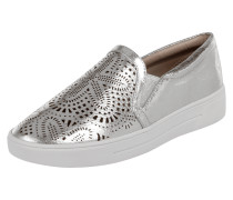 Slip-On Sneaker in Metallicoptik