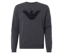 Sweatshirt mit Logo aus Frottee
