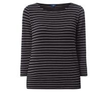Shirt mit Streifen aus Effektgarn