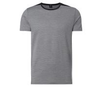 Slim Fit T-Shirt mit Streifenmuster