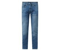 Tapered Fit Jeans mit Stretch-Anteil Modell 'Lyon'