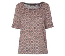 Blusenshirt mit Allover-Muster