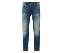 Slim Fit Jeans mit Stretch-Anteil Modell '3301'
