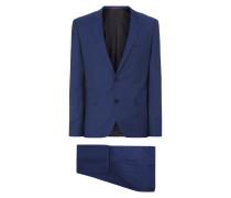 Slim Fit Anzug mit 2-Knopf-Sakko und Weste
