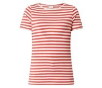 T-Shirt aus Modalmischung Modell 'Gia'
