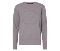 Vintage Fit Sweatshirt mit Logo-Prägung