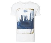 T-Shirt mit New York-Print