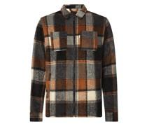 Hemdjacke mit Woll-Anteil
