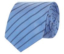 Krawatte aus Seide mit Streifenmuster