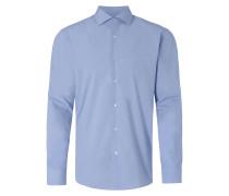 Regular Fit Business-Hemd mit Haifischkragen