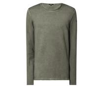 Sweatshirt mit Baumwolle Modell 'Elco'