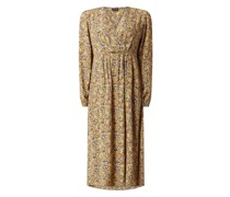 Kleid in Wickel-Optik Modell 'Gry'