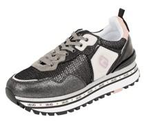 Sneaker mit Lederbesatz Modell 'Maxi Wonder'