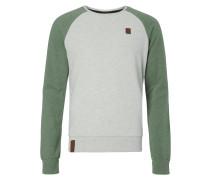 Sweatshirt mit Raglanärmeln in Kontrastfarbe