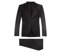 Slim Fit Anzug aus Schurwoll-Mix