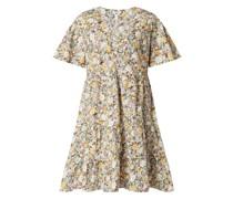 Minikleid mit floralem Muster Modell 'Jasia'