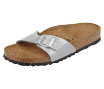 Sandalen mit Glitter-Effekt