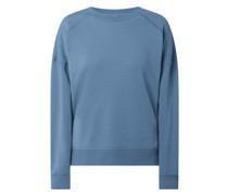 Sweatshirt aus Baumwolle Modell 'Janique'