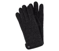 Handschuhe aus gewalkter Schurwolle