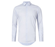 Regular Fit Business-Hemd mit Karomuster