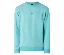 Sweatshirt im Washed Out Look Modell 'Wash'