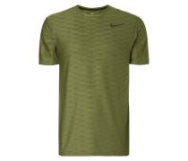 T-Shirt mit feinem Lochmuster