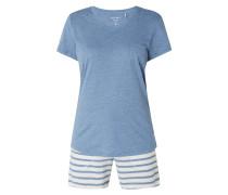 Pyjama aus Baumwoll-Modal-Mix